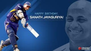 Happy Birthday Sanath Jayasuriya: Sri Lankan veteran turns 46
