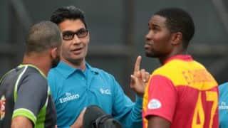 Zimbabwe vs Pakistan 2015, 2nd ODI at Harare: Chamu Chibhabha's gritty knock, Elton Chigumbura's finishing touches, Shoaib Malik's defiance and other highlights