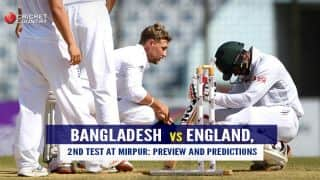 Bangladesh vs England, 2nd Test at Mirpur, Preview and Prediction