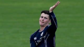 ICC adjudges Scotland spinner Tom Sole's bowling action as legal