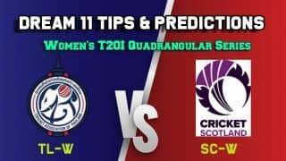 TL-W vs SC-W Dream11 Team Thailand Women vs Scotland Women, 7th Match – Cricket Prediction Tips For Today's Match TL-W vs SC-W at Deventer