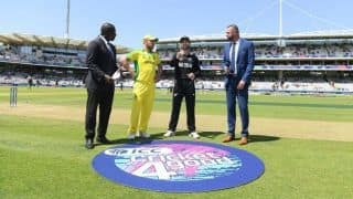 Unchanged Australia opt to bat against New Zealand at Lord's