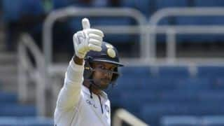 Losing just five wickets on this track a good effort: Mayank Agarwal