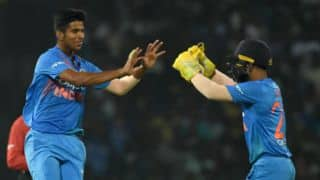 Sundar feels wrist spinners are 'magical', but finger spinners can be effective too