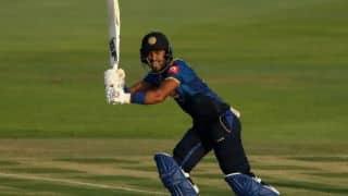 Dinesh Chandimal dropped for ODIs against India; Asela Gunaratne, Danushka Gunathilaka return