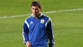 Messi to get memorabilia launched by Indian company