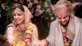 First photo out from Virat Kohli, Anushka Sharma wedding