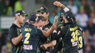 Australia vs England, 1st T20 at Hobart