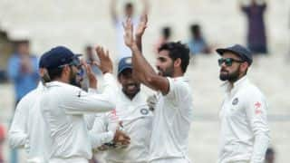 India vs New Zealand 2nd Test Day 2: Wriddhiman Saha's crucial fifty, Bhuvneshwar Kumar's five-wicket haul and other highlights