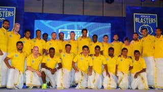 Sachin Tendulkar's ISL franchise Kerala Blasters unveiled their team logo