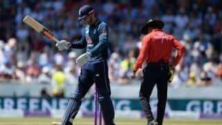 India vs England: Alex Hales ruled out of ODI series with a side strain