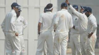 Rest of India in command despite Chirag Gandhi's fifty
