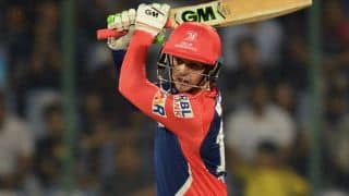 IPL 2017: Quinton de Kock ruled out of IPL 10 due to finger injury