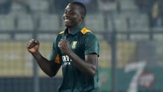 Rabada: SA's ODI series win in India best moment of my career