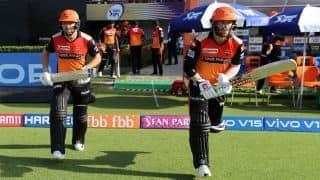 VIDEO: हैदराबाद की जीत में वार्नर-बेयरस्टो ने निभाई अहम भूमिका, 6 विकेट से हारी चेन्नई