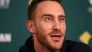 Faf du Plessis: As a leader you want to be part of creating history