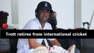 Jonathan Trott retires from international cricket