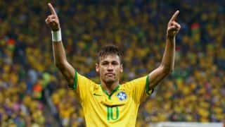 Neymar delighted with scoring two goals for Brazil in FIFA World Cup 2014 opener