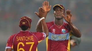 Sammy credits West Indies bench strength on big win