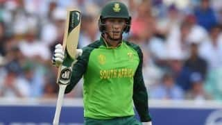 South Africa are not going to stand back for anyone, says Rassie van der Dussen