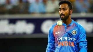 Krunal Pandya sends blank cheque to help hospitalised Baroda cricketer Jacob Martin