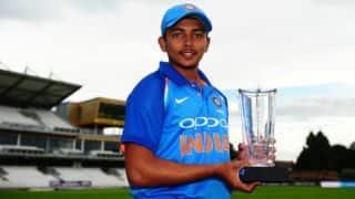 Ranji Trophy 2017-18, Group C, highlights: Prithvi Shaw's ton keeps Mumbai ahead; Madhya Pradesh dominate Tripura