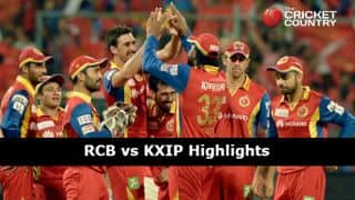 Royal Challengers Bangalore vs Kings XI Punjab IPL 2015 Match 40 at Bangalore Highlights: Another Chris Gayle century, KXIP's spectacular capitulation, and more