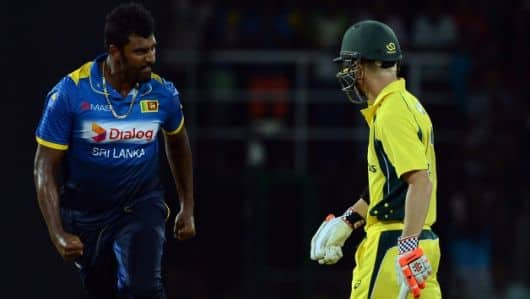Thisara Perera, Starc reprimanded for breaching ICC Code of Conduct