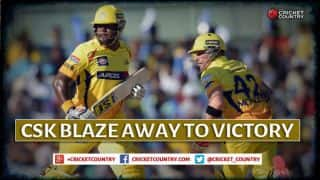 Dwayne Smith, Brendon McCullum's pyrotechnics help Chennai Super Kings maul Mumbai Indians by 6 wickets in IPL 2015