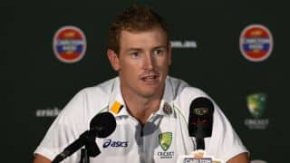 George Bailey adresses press after Australia's loss to South Africa
