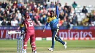 Match highlights Sri Lanka vs West Indies, Match 39: Nicholas Pooran's century in vain as Sri Lanka win by 23 runs