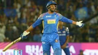 कृष्णाप्पा गौतम की 4 गेंद पर 13 रन की पारी ने बदल दिया मैच का रुख