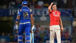 Marcus Stoinis, Wriddhiman Saha help Kings XI Punjab thrash Mumbai Indians by 7 wickets in IPL 2016