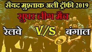 रेलवे के खिलाफ बंगाल की जीत में चमके श्रीवत्स गोस्वामी