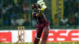 South Africa vs West Indies 2014-15, 2nd ODI at Johannesburg: Dwayne Smith dismissed on 64