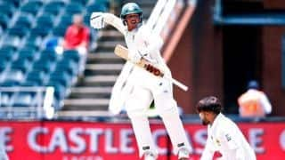 3rd Test: Quinton de Kock's timely century sets Pakistan huge task