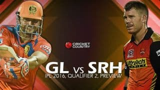 GL vs SRH, Qualifier 2,: Preview and Predictions