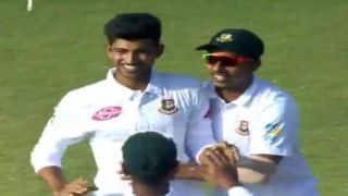 डेब्यू मैच में 5-विकेट हॉल लेने वाले सबसे युवा गेंदबाज बने नईम हसन