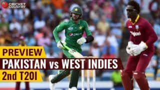 Pakistan vs West Indies, 2nd T20I at Port of Spain, Preview: Revival of fortunes or same old story?
