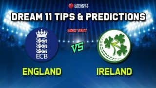 Ireland vs England Only Test, Live Cricket Score, Commentary – ENG vs IRE Test Match IRE vs ENG at Lord's, London