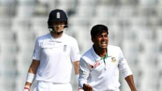 Lunch Report: Mehedi's 5-for puts Bangladesh on top against England despite Root's fifty