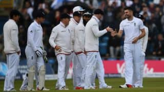 Tom Latham leads New Zealand fightback against England at Tea on Day 1 of 2nd Test at Headingley