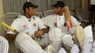Dravid recalls conversations with Laxman while fielding in slips