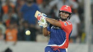 IPL 2017: Rishabh Pant's fiery cameo guides Delhi Daredevils (DD) to 168 for 7 against Kolkata Knight Riders (KKR) in match 18