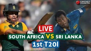 Live Cricket Score, SA vs SL, 1st T20I at Centurion: