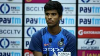 Sundar becomes India's 220th ODI player