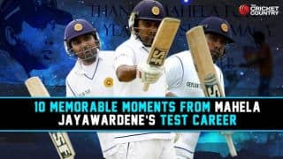 Mahela Jayawardene retirement: 10 memorable moments from the Sri Lankan's Test career