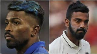 BCCI wants Pandya-Rahul issue to end before the World Cup