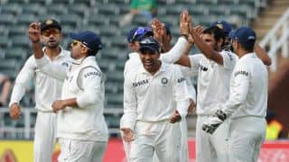 India bowl South Africa out for 244; take 36-run lead on Day 3 of 1st Test