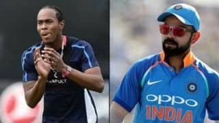 Jofra Archer wants to take Virat kohli wicket in world cup as he miss it in IPL